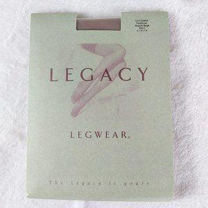 Legacy Legwear Cool Control Pantyhose Medium Beige